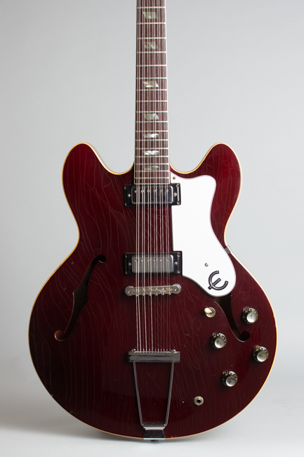 Epiphone  E360TD-C12 Riviera 12 String Semi-Hollow Body Electric Guitar  (1967)