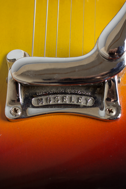 Mosrite  Doubleneck Owned and played by Roy Nichols, Arch Top Hollow Body Electric Guitar ,  c. 1959