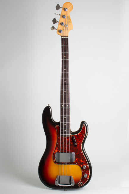 Fender  Precision Bass Solid Body Electric Bass Guitar  (1963)