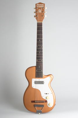 Harmony  H-44 Stratotone Solid Body Electric Guitar ,  c. 1955