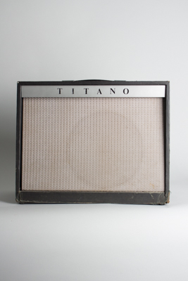 Magnatone Tube Amplifier, labeled Titano (1965)