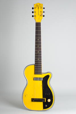 Silvertone H-42/1 Solid Body Electric Guitar, made by Harmony  (1957)