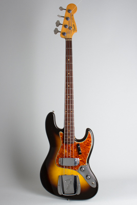 Fender  Jazz Bass Solid Body Electric Bass Guitar  (1960)