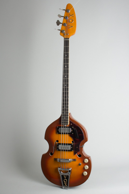 Vox  V-283 Spyder IV Hollow Body Electric Bass Guitar  (1968)