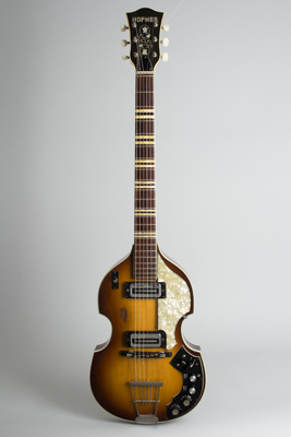 Hofner  Model 459TZ Semi-Hollow Body Electric Guitar  (1968)