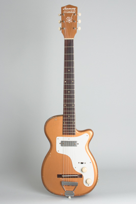 Harmony  H-44 Stratotone Solid Body Electric Guitar  (1953)