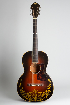 Oahu Jumbo Model 71K Conversion Flat Top Acoustic Guitar, made by Kay ,  c. 1937