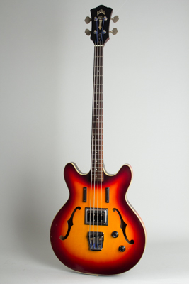 Guild  Starfire Bass Semi-Hollow Body Electric Bass Guitar  (1965)
