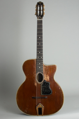 Busato  Grand Modele Gypsy Jazz Acoustic Guitar ,  c. late 1930