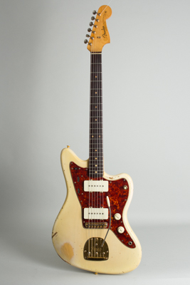 Fender  Jazzmaster with gold hardware Solid Body Electric Guitar  (1963)