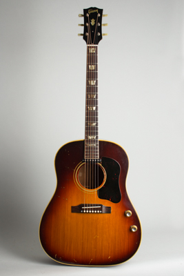 Gibson  J-160E Flat Top Acoustic-Electric Guitar  (1965)