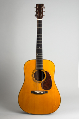 C. F. Martin  D-28 with T.J. Thompson top formerly owned by Ry Cooder Flat Top Acoustic Guitar  (1935)