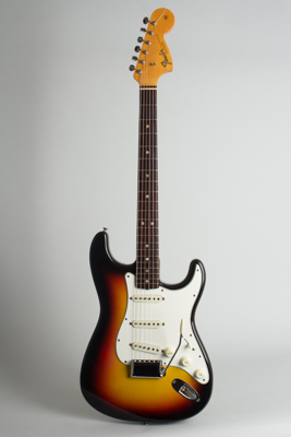 Fender  Stratocaster Solid Body Electric Guitar  (1966)