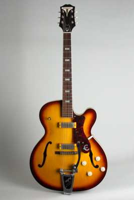 Epiphone  Zephyr E-312T Thinline Hollow Body Electric Guitar (1960)